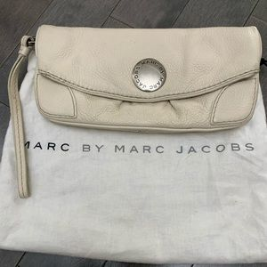 Marc Jacobs Leather Fold Over Clutch